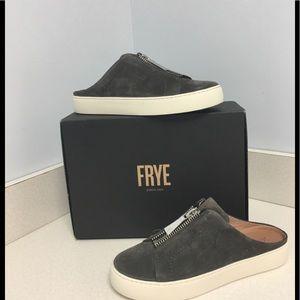 Frye. Zip Mule Sneakers